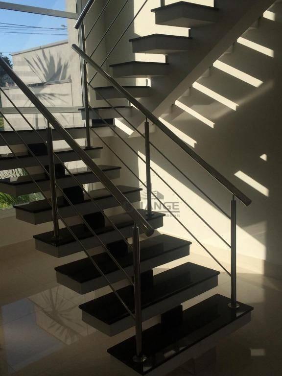 casa com 3 dormitórios à venda, 240 m² por r$ 1.250.000,00 - swiss park - campinas/sp - ca13796