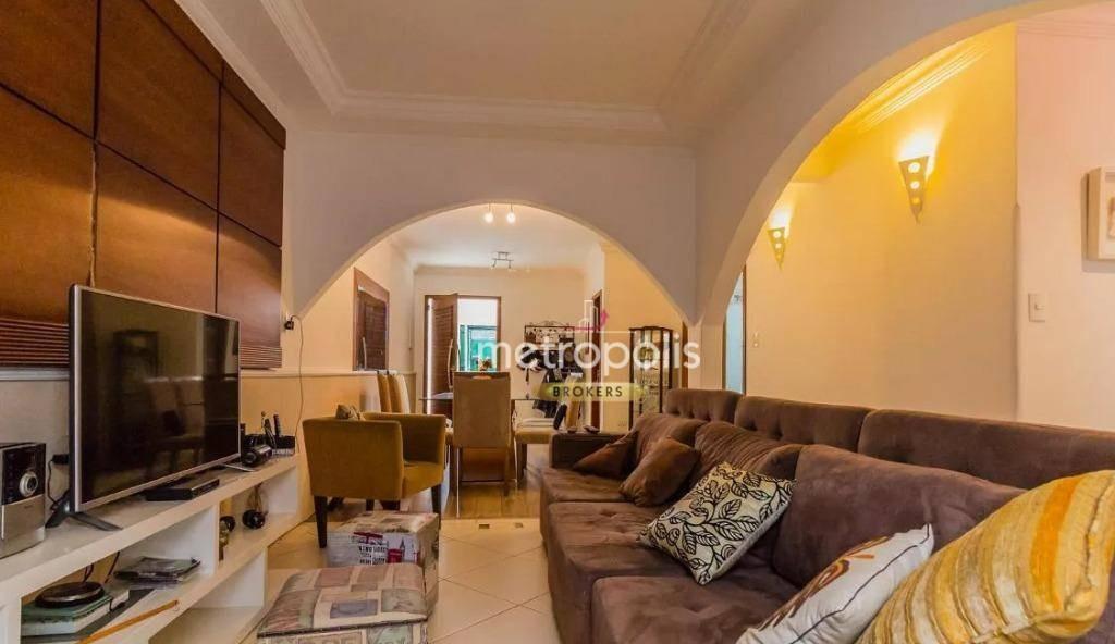 casa com 3 dormitórios à venda, 240 m² por r$ 980.000,00 - mauá - são caetano do sul/sp - ca0472