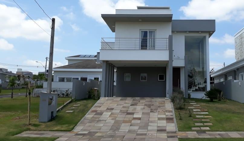casa com 3 dormitórios à venda, 245 m² - alphaville - gravataí/rs - ca1907