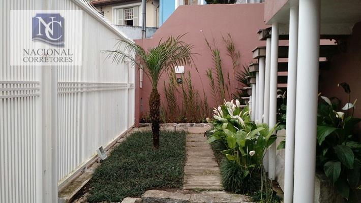 casa com 3 dormitórios à venda, 247 m² por r$ 1.100.000,00 - centro alto - ribeirão pires/sp - ca1286