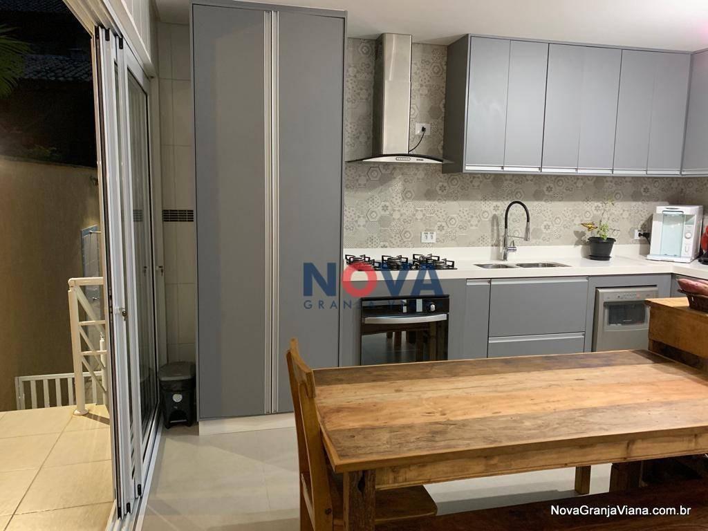 casa com 3 dormitórios à venda, 248 m² por r$ 890.000,00 - nova paulista - jandira/sp - ca1824