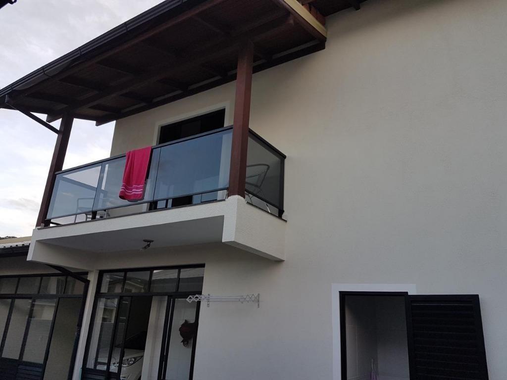 casa com 3 dormitórios à venda, 250 m² por r$ 555.000 - praia de fora - palhoça/sc - ca2405