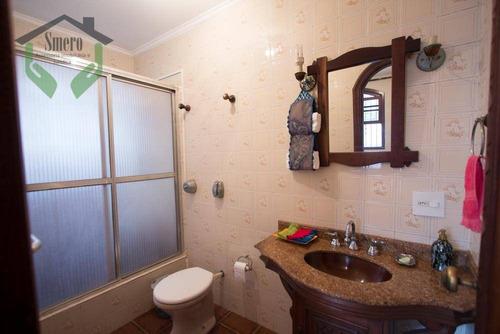 casa com 3 dormitórios à venda, 250 m² por r$ 800.000 - ca0362