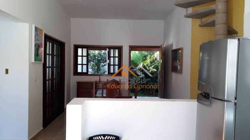 casa com 3 dormitórios à venda, 255 m² por r$ 320.000,00 - portal da fazendinha - caraguatatuba/sp - ca0239