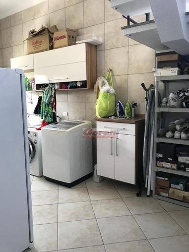 casa com 3 dormitórios à venda, 259 m² por r$ 1.250.000 - jardim planalto - arujá/sp - ca1321