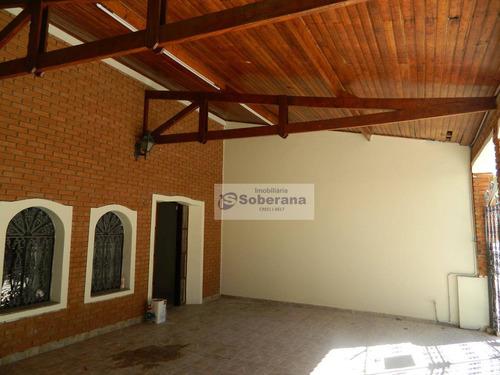 casa com 3 dormitórios à venda, 259 m² por r$ 700.000 - são bernardo - campinas/sp - ca1965