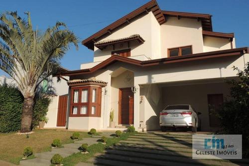 casa com 3 dormitórios à venda, 259 m² por r$ 850.000 - portal dos pássaros ii - boituva/sp - ca0500