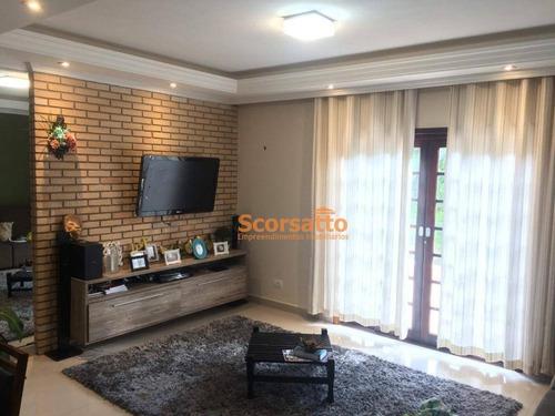casa com 3 dormitórios à venda, 260 m² por r$ 860.000 - parque delfim verde - itapecerica da serra/sp - ca1653