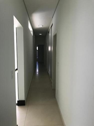 casa com 3 dormitórios à venda, 265 m² por r$ 900.000 - condominio golden park residence - mirassol/sp - ca1905