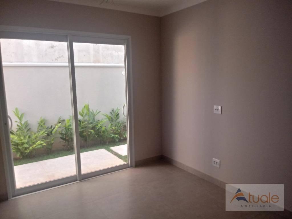 casa com 3 dormitórios à venda, 265 m² - swiss park - campinas/sp - ca6316