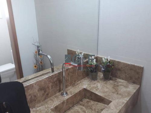 casa com 3 dormitórios à venda, 267 m² por r$ 1.705.000,00 - swiss park - campinas/sp - ca6555