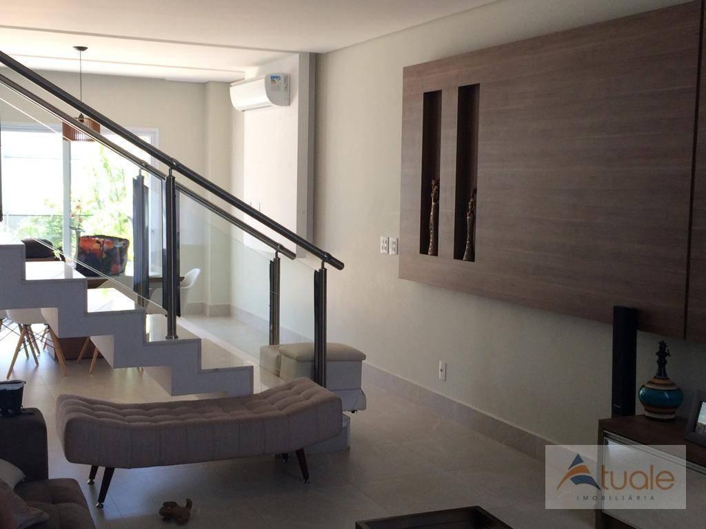 casa com 3 dormitórios à venda, 272 m² - residencial portal do lago - sumaré/sp - ca6611