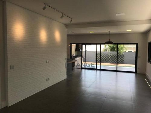 casa com 3 dormitórios à venda, 273 m² por r$ 1.470.000 - swiss park - campinas/sp - ca12600