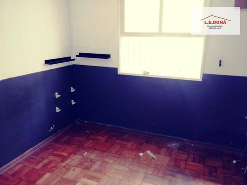 casa com 3 dormitórios à venda, 280 m² por r$ 840.000,00 - parque continental - são paulo/sp - ca0267