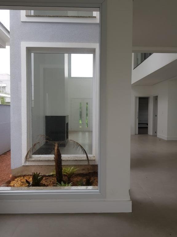 casa com 3 dormitórios à venda, 289 m² - alphaville - gravataí/rs - ca1796