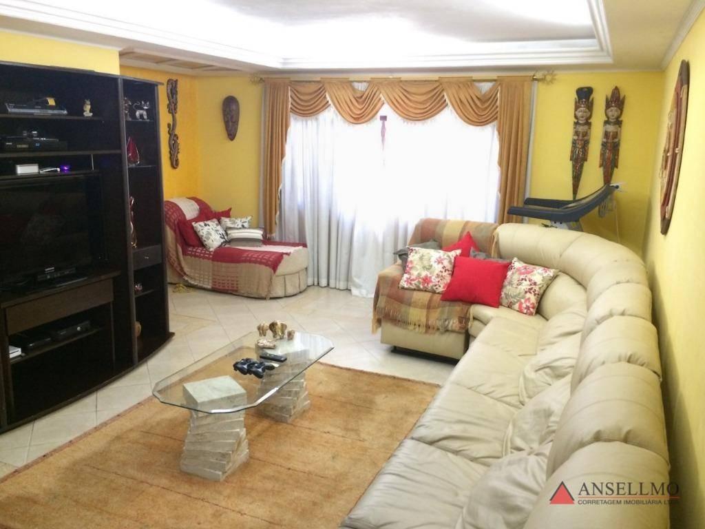 casa com 3 dormitórios à venda, 300 m² por r$ 1.100.000,00 - baeta neves - são bernardo do campo/sp - ca0422