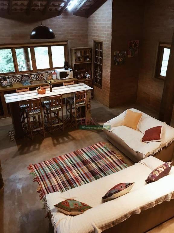 casa com 3 dormitórios à venda, 300 m² por r$ 490.000 - souzas - monteiro lobato/sp - ca1991