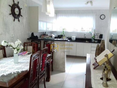 casa com 3 dormitórios à venda, 300 m² por r$ 600.000,00 - aviação - praia grande/sp - ca0128