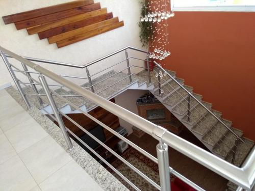 casa com 3 dormitórios à venda, 304 m² por r$ 1.200.000 - swiss park - campinas/sp - ca5579