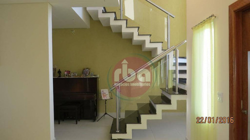 casa com 3 dormitórios à venda, 310 m² por r$ 950.000,00 - condomínio saint charbel - araçoiaba da serra/sp - ca1440