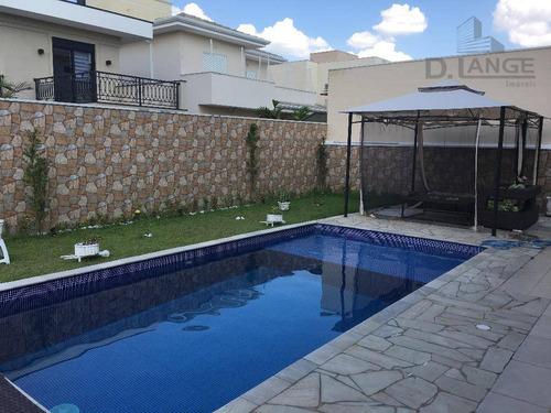 casa com 3 dormitórios à venda, 320 m² por r$ 1.400.000 - swiss park - campinas/sp - ca11625