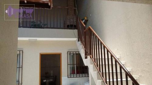 casa com 3 dormitórios à venda, 326 m² por r$ 1.500.000,00 - parque das nações - santo andré/sp - ca0212