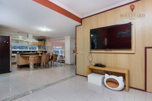 casa com 3 dormitórios à venda, 330 m² por r$ 1.800.000,00 - alphaville graciosa - pinhais/pr - ca0094