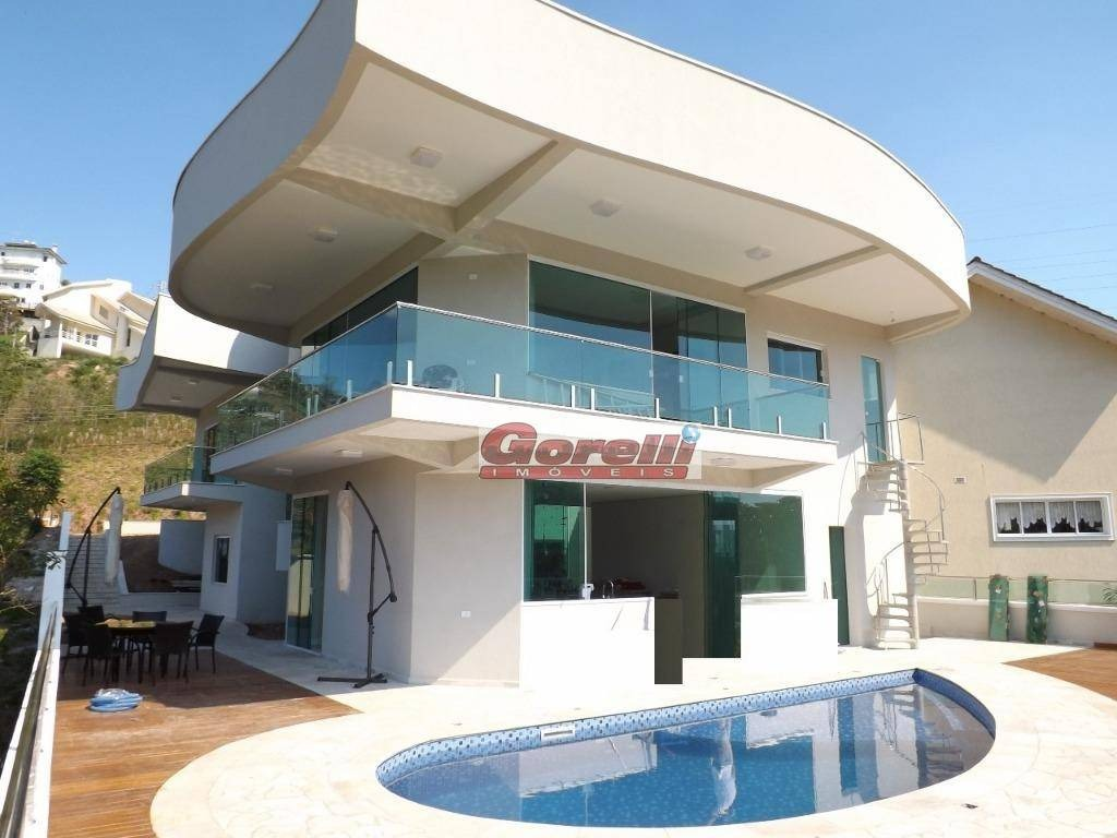 casa com 3 dormitórios à venda, 349 m² por r$ 1.855.000,00 - condomínio hills iii - arujá/sp - ca1394