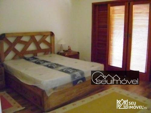 casa com 3 dormitórios à venda, 350 m² por r$ 3.200.000,00 - fazenda vila real de itu - itu/sp - ca1302