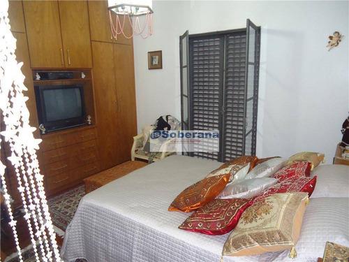 casa com 3 dormitórios à venda, 355 m² por r$ 900.000,00 - parque são quirino - campinas/sp - ca3459