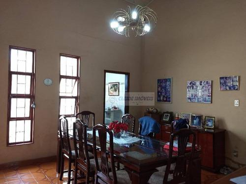 casa com 3 dormitórios à venda, 357 m² por r$ 450.000 - jardim petrópolis - cuiabá/mt - ca0819