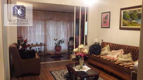 casa com 3 dormitórios à venda, 360 m² por r$ 500.000 - casa branca - santo andré/sp - ca2667