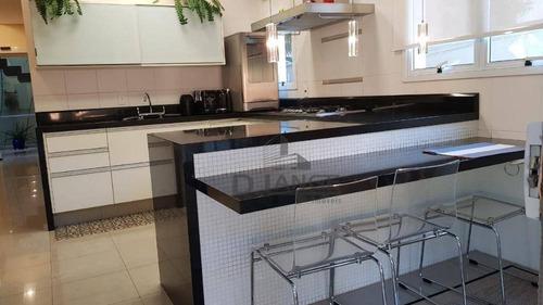 casa com 3 dormitórios à venda, 363 m² por r$ 2.600.000 - jardim chapadão - campinas/sp - ca13149