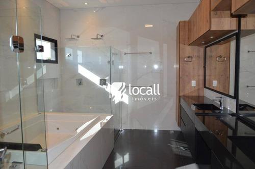 casa com 3 dormitórios à venda, 373 m² por r$ 2.700.000 - residencial quinta do golfe - são josé do rio preto/sp - ca1815