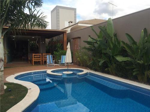 casa com 3 dormitórios à venda, 380 m² por r$ 1.575.000 - condominio golden park residence - mirassol/sp - ca0645