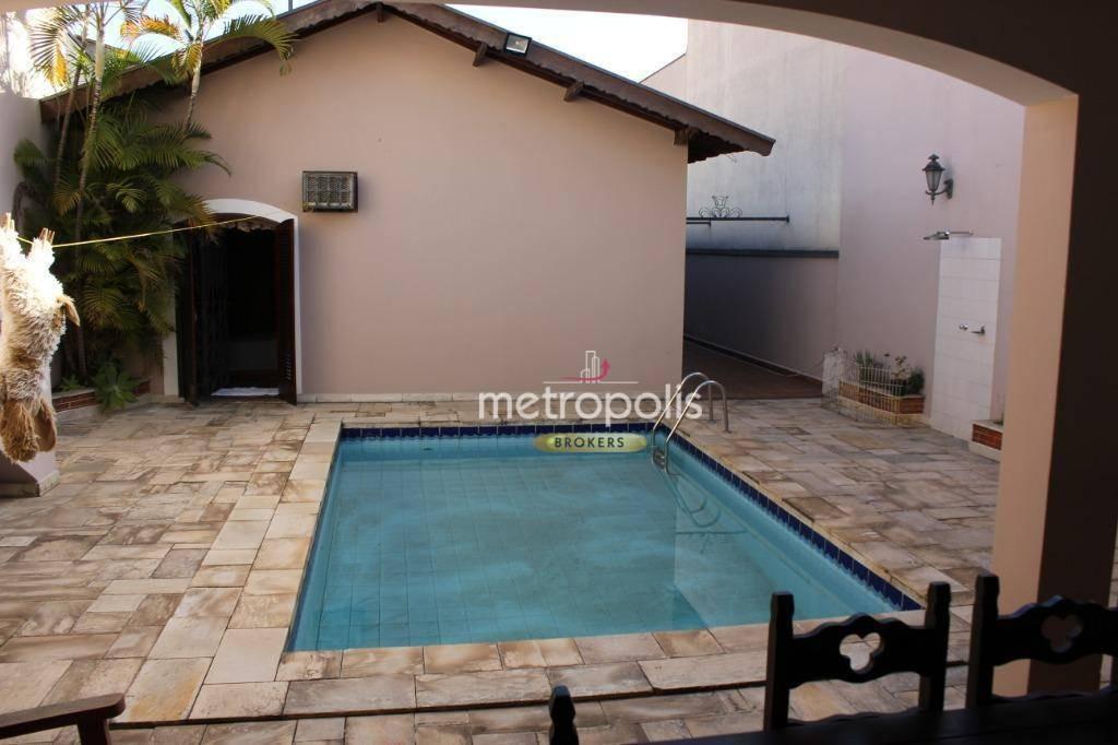 casa com 3 dormitórios à venda, 380 m² por r$ 1.750.000 - santa maria - são caetano do sul/sp - ca0342