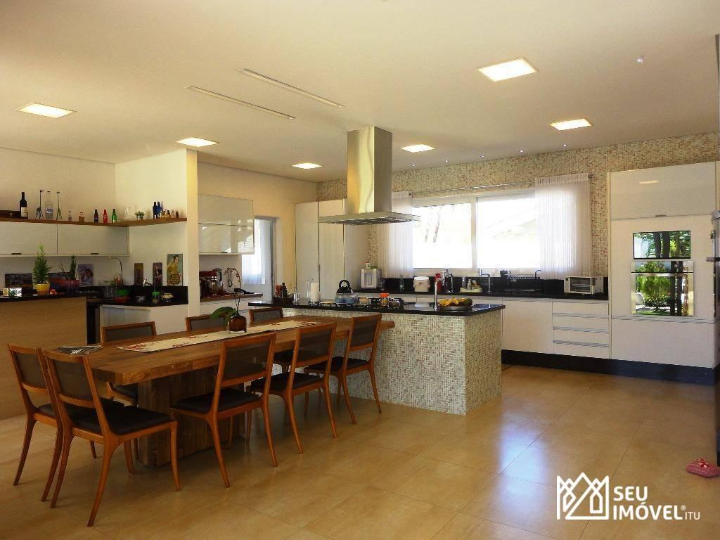 casa com 3 dormitórios à venda, 400 m² por r$ 2.500.000,00 - condomínio city castelo - itu/sp - ca1452