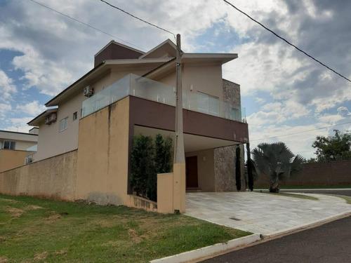 casa com 3 dormitórios à venda, 406 m² por r$ 1.480.000 - condominio golden park residence - mirassol/sp - ca1736