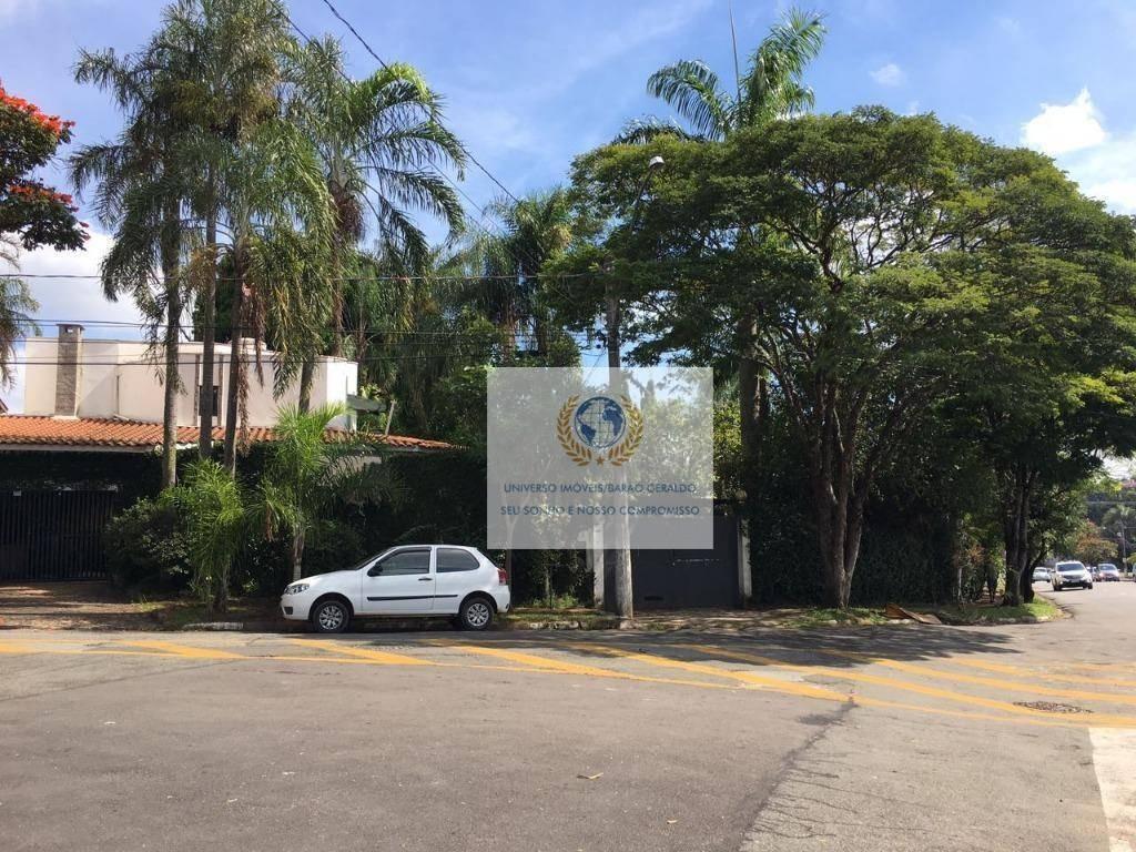 casa com 3 dormitórios à venda, 432 m² por r$ 1.800.000 - cidade universitária - campinas/sp - ca1034