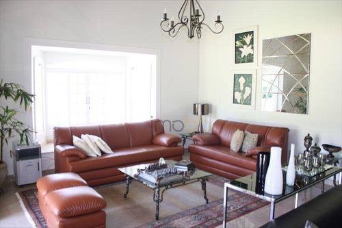casa com 3 dormitórios, à venda, 450 m² por r$ 2.000.000 - condomínio fazenda vila real - itu/sp - ca2434