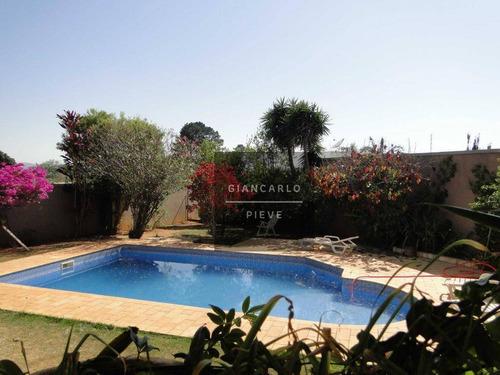 casa com 3 dormitórios à venda, 548 m² por r$ 1.550.000 - vila santista - atibaia/sp - ca0321