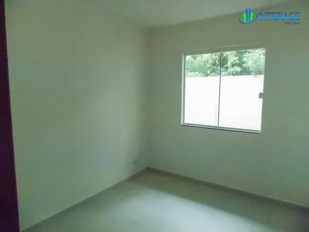 casa com 3 dormitórios à venda, 55 m² por r$ 145.000 - jardim das acácias - campo largo/pr - ca0269