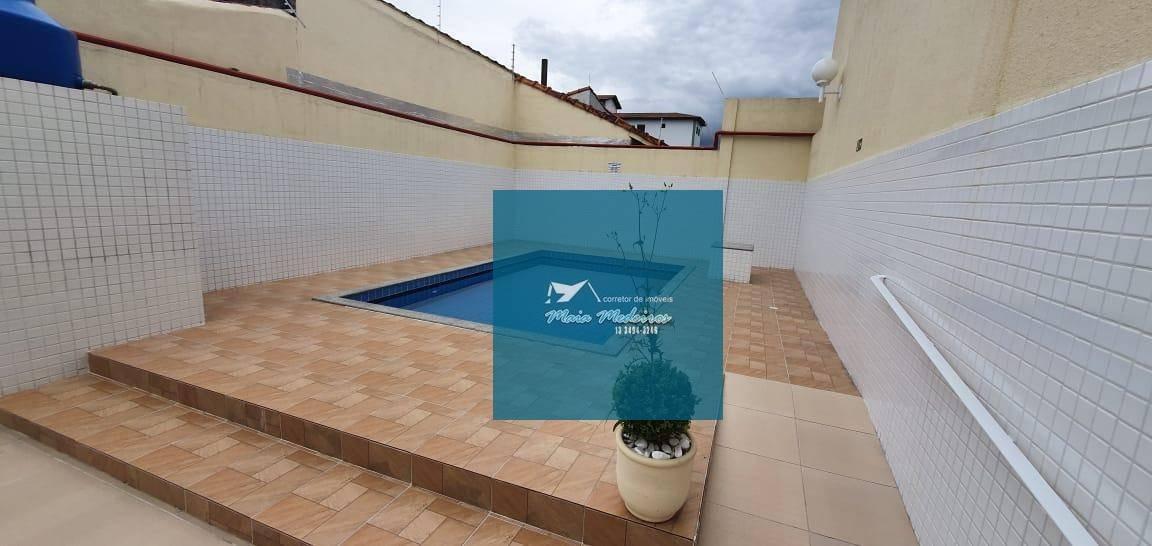 casa com 3 dormitórios à venda, 70 m² por r$ 315.000 - maracanã - praia grande/sp - ca0046