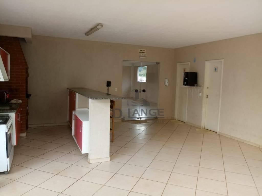 casa com 3 dormitórios à venda, 78 m² por r$ 550.000 - parque rural fazenda santa cândida - campinas/sp - ca13046
