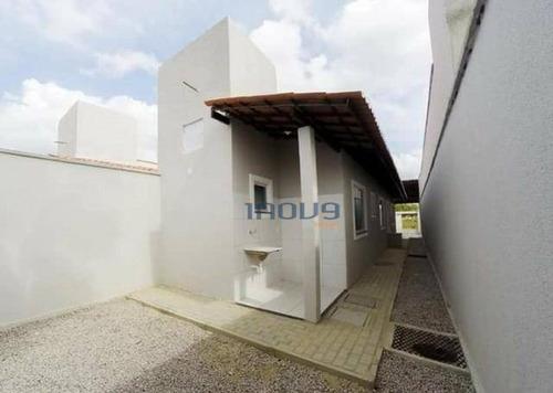 casa com 3 dormitórios à venda, 80 m² por r$ 166.000 - jardim bandeirante - maracanaú/ce - ca0477