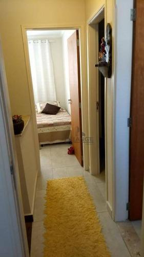 casa com 3 dormitórios à venda, 80 m² por r$ 550.000 - parque rural fazenda santa cândida - campinas/sp - ca13070