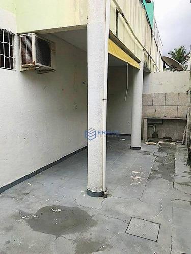 casa com 3 dormitórios à venda, 82 m² por r$ 280.000 - cidade dos funcionários - fortaleza/ce - ca0802