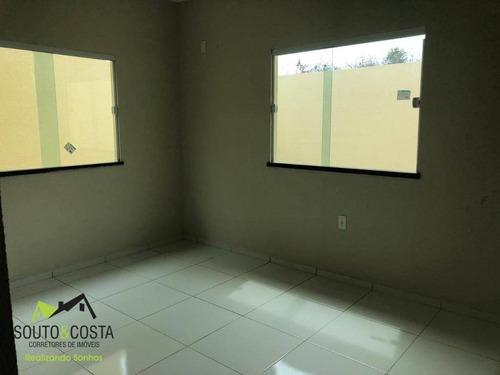 casa com 3 dormitórios à venda, 83 m² por r$ 155.000 - luzardo viana - maracanaú/ce - ca0251