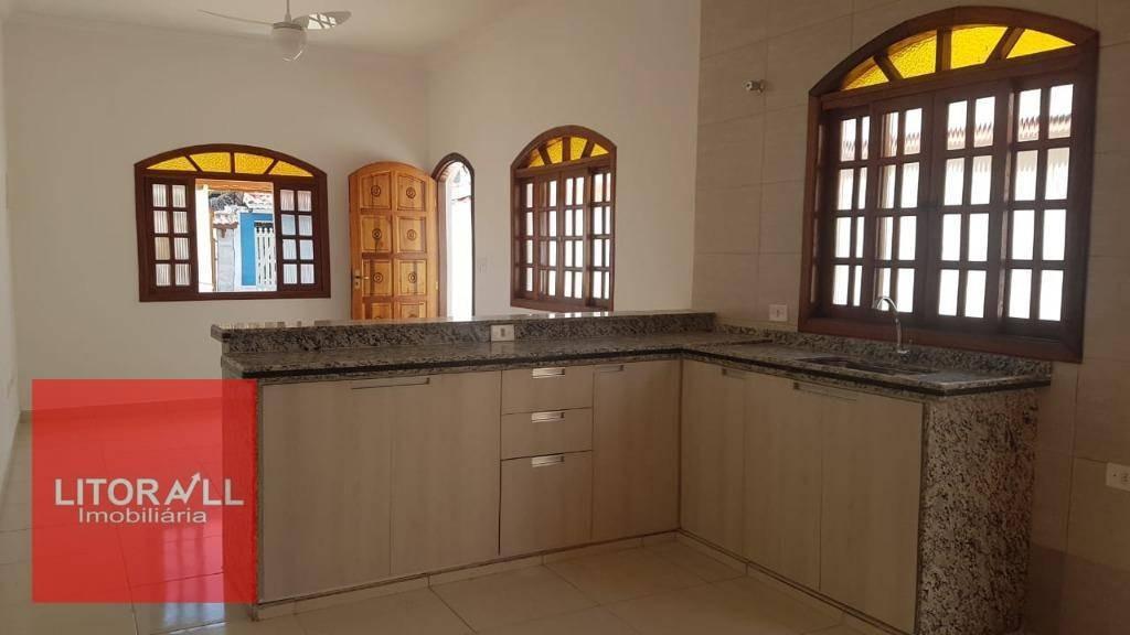 casa com 3 dormitórios à venda, 90 m² por r$ 260.000 - cidade santa julia - itanhaém/sp - ca1260