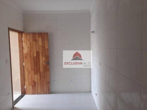 casa com 3 dormitórios à venda, 90 m² por r$ 370.000 - jardim satélite - são josé dos campos/sp - ca0560
